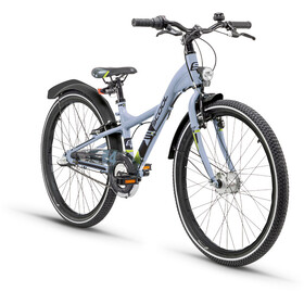 s'cool XXlite 24 3-S Juniorcykel Barn alloy grå